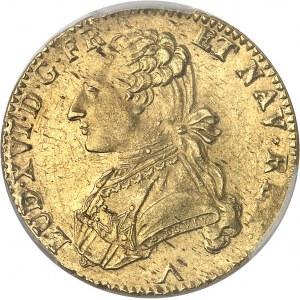 Louis XVI (1774-1792). Double louis d'or aux lunettes 1779/8, W, Lille.