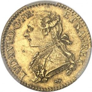 Louis XVI (1774-1792). Louis d'or aux lunettes 1775, M, Toulouse.