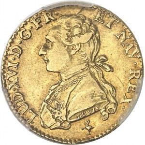 Louis XVI (1774-1792). Louis d'or aux lunettes 1776/5, 1er semestre, A, Paris.