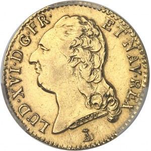 Louis XVI (1774-1792). Louis d'or à la tête nue 1785, T, Nantes.