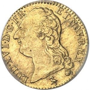 Louis XVI (1774-1792). Louis d'or à la tête nue 1786, 2e semestre, A, Paris.