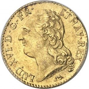 Louis XVI (1774-1792). Louis d'or à la tête nue 1786, 2e semestre, N, Montpellier.