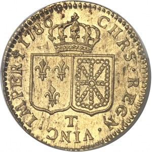 Louis XVI (1774-1792). Louis d'or à la tête nue 1786, 2e semestre, T, Nantes.
