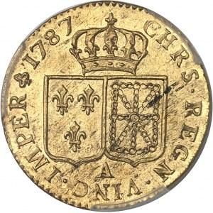 Louis XVI (1774-1792). Louis d'or à la tête nue 1787, 1er semestre, A, Paris.