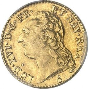Louis XVI (1774-1792). Louis d'or à la tête nue 1787, 2e semestre, AA, Metz.