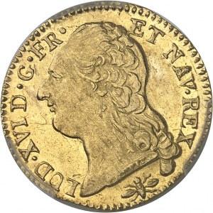 Louis XVI (1774-1792). Louis d'or à la tête nue 1787, 1er semestre, D, Lyon.