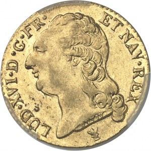 Louis XVI (1774-1792). Louis d'or à la tête nue 1787, 2e semestre, I, Limoges.