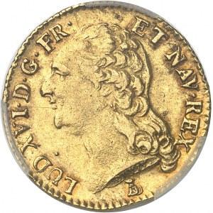 Louis XVI (1774-1792). Louis d'or à la tête nue 1787, 2e semestre, T, Nantes.