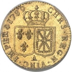 Louis XVI (1774-1792). Louis d'or à la tête nue 1789, 2e semestre, A, Paris.