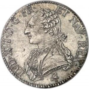 Louis XVI (1774-1792). Écu aux rameaux d'olivier 1777, 1er semestre, A, Paris.