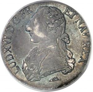 Louis XVI (1774-1792). Écu aux rameaux d'olivier 1778, N, Montpellier.