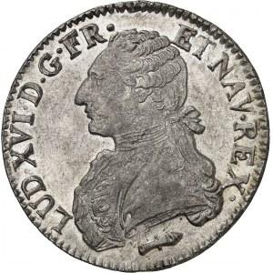 Louis XVI (1774-1792). Écu aux rameaux d'olivier 1789, Q, Perpignan.
