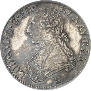 Louis XVI (1774-1792). Écu aux rameaux d'olivier 1791, I, Limoges.