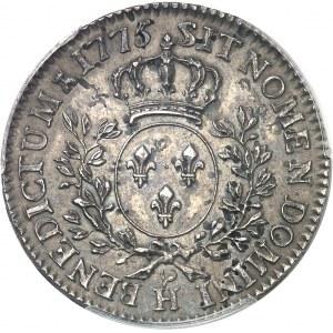 Louis XVI (1774-1792). Demi-écu aux rameaux d'olivier 1775, H, La Rochelle.