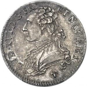 Louis XVI (1774-1792). Demi-écu aux rameaux d'olivier 1779, H, La Rochelle.