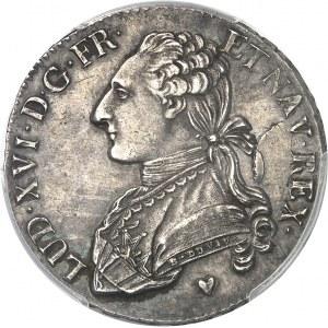 Louis XVI (1774-1792). Demi-écu aux rameaux d'olivier 1780, BB, Strasbourg.