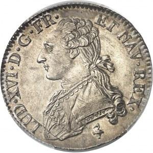 Louis XVI (1774-1792). Demi-écu aux rameaux d'olivier 1781/0, 1er semestre, A, Paris.