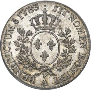 Louis XVI (1774-1792). Demi-écu aux rameaux d'olivier 1783, 2e semestre, A, Paris.