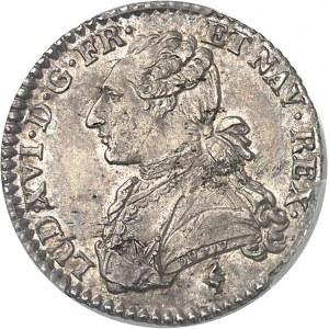 Louis XVI (1774-1792). Dixième d'écu aux rameaux d'olivier 1778/5, 1er semestre, A, Paris.