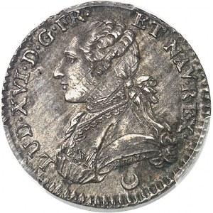 Louis XVI (1774-1792). Dixième d'écu aux rameaux d'olivier 1779, AA, Metz.
