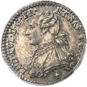 Louis XVI (1774-1792). Dixième d'écu aux rameaux d'olivier 1781/0, 1er semestre, A, Paris.