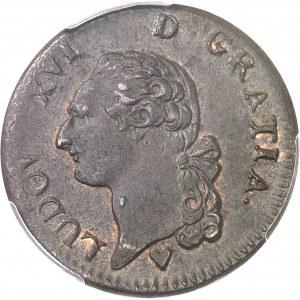 Louis XVI (1774-1792). Sol 1785, BB, Strasbourg (petit BB).
