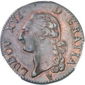 Louis XVI (1774-1792). Sol 1787, I, Limoges.
