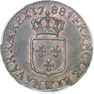 Louis XVI (1774-1792). Demi-sol 1788, W, Lille.