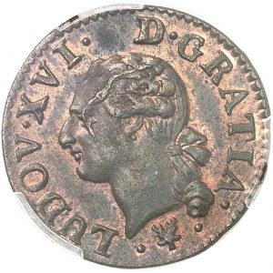 Louis XVI (1774-1792). Liard 1784, L, Bayonne.