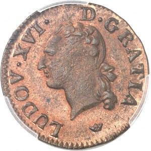 Louis XVI (1774-1792). Liard 1789, M, Toulouse.
