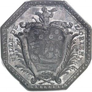 Louis XVI (1774-1792). Jeton, don aux indigents du 2e bataillon de Bassigny, régiment d'artillerie des colonies, basé à Lorient 1789, Paris.