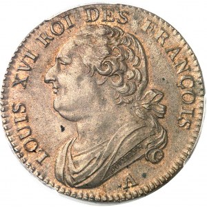 Constitution (1791-1792). 12 deniers FRANÇOIS 1791, ·A, Paris.