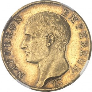 Premier Empire / Napoléon Ier (1804-1814). 40 francs République, tête nue 1806, A, Paris.