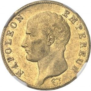 Premier Empire / Napoléon Ier (1804-1814). 40 francs République, tête nue 1806, I, Limoges.