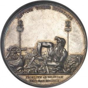 Premier Empire / Napoléon Ier (1804-1814). Médaille, la bataille d'Essling 1809, Paris.