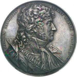 Premier Empire / Napoléon Ier (1804-1814). Médaille, Joachim Murat 1815 (c.1840), Paris.