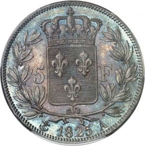 Charles X (1824-1830). 5 francs, 1er type 1825, A, Paris.