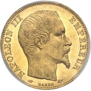 Second Empire / Napoléon III (1852-1870). 20 francs tête nue 1857, A, Paris.