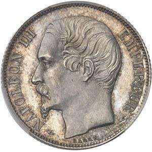 Second Empire / Napoléon III (1852-1870). 1 franc tête nue, grosse tête 1853, A, Paris.