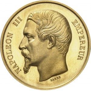 Second Empire / Napoléon III (1852-1870). Médaille d'Or, Imprimerie impériale [1863], Paris.