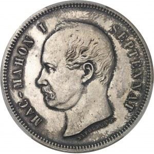 IIIe République (1870-1940). Essai au module de 5 francs Mac Mahon 1874, Bruxelles (Würden).