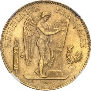 IIIe République (1870-1940). 100 francs Génie 1885, A, Paris.