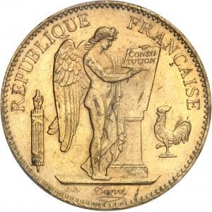 IIIe République (1870-1940). 100 francs Génie 1901, A, Paris.