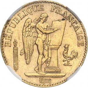 IIIe République (1870-1940). 20 francs Génie 1888, A, Paris.