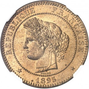IIIe République (1870-1940). 10 centimes Cérès 1895, A, Paris.