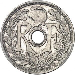 IIIe République (1870-1940). Essai de 25 centimes Lindauer, petit module 1913, Paris.