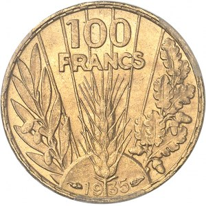 IIIe République (1870-1940). 100 francs Bazor 1935, Paris.