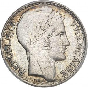 IIIe République (1870-1940). Essai de 10 francs Turin 1929, Paris.