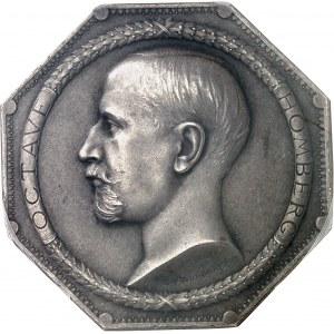 IIIe République (1870-1940). Jeton de la Société Financière Française et Coloniale, Octave Homberg vice-président de la Banque d'Indochine ND (après 1907), Paris.