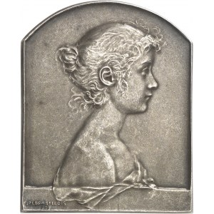IIIe République (1870-1940). Médaille, La Jeunesse par Jules-Prosper Legastelois, SAMF n° 122 1899, Paris.